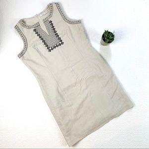 Peter Nygard Cotton Linen Look Dress SZ 16